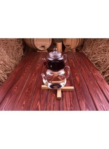 Taşev Lappi Borosilikat Cam Çaydanlık Renkli